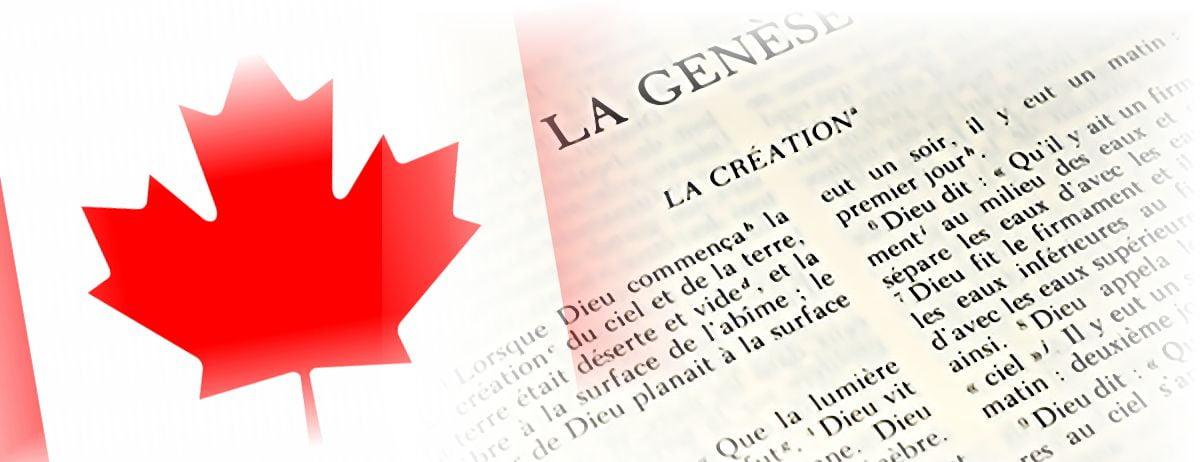 40% des canadiens croient-ils que la terre a 6000 ans ?
