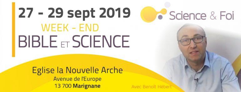 conférence Bible et science Marignane