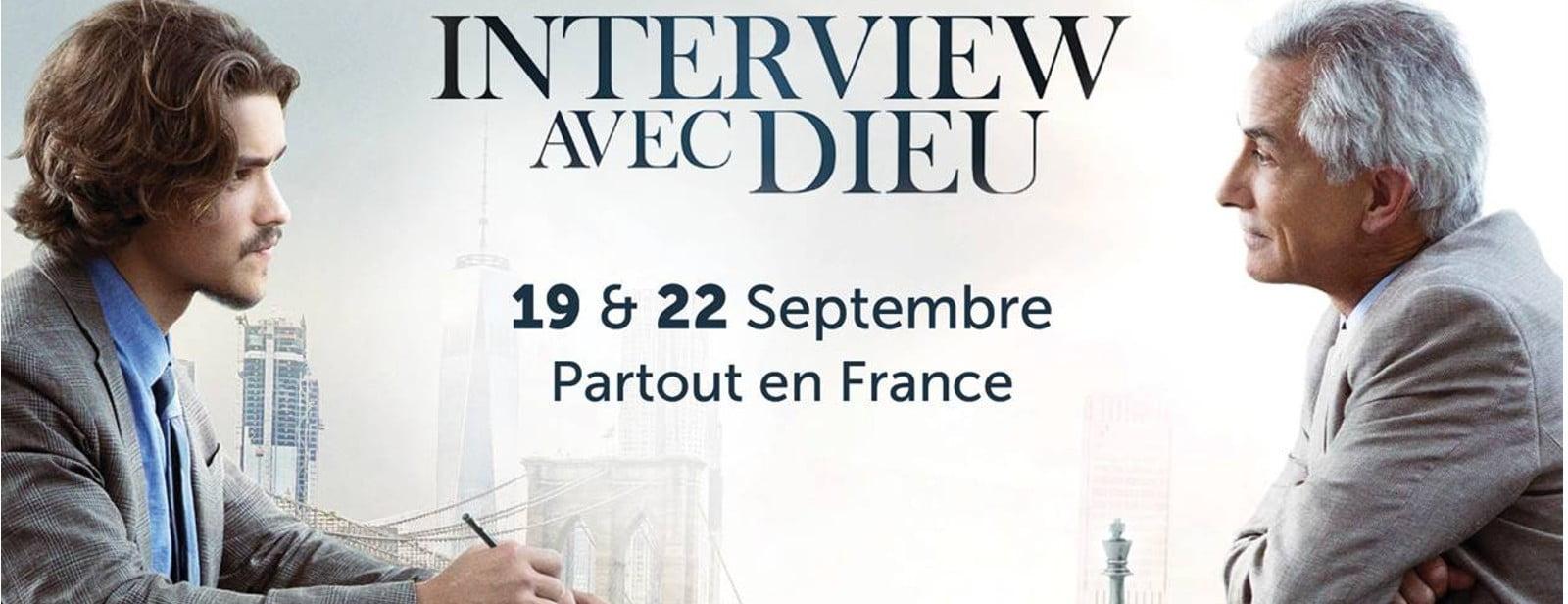 Ne manquez pas «Interview avec Dieu» au cinéma dim 22 sept