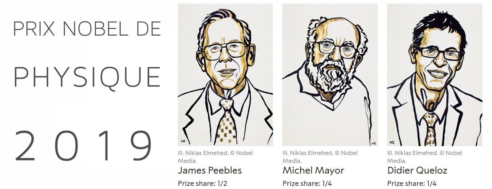 Retour sur les Nobels de physique 2019
