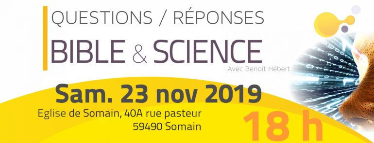 conférence Bicle et science 2019 Somain