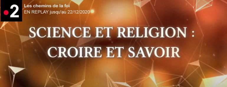 Replay France 2 Science religion